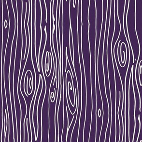 Wonky Woodgrain - Purple