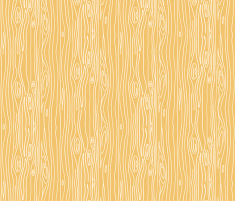 Wonky Woodgrain - Curry - Smaller fabric by jesseesuem on Spoonflower - custom fabric