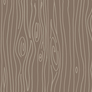 Wonky Woodgrain - Muted Browns