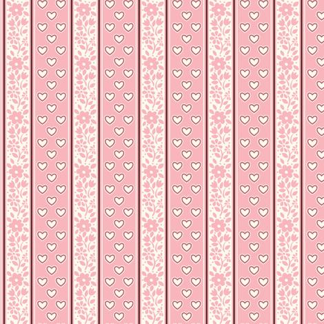 BANDANA_LOVE_pink fabric by stacyiesthsu on Spoonflower - custom fabric
