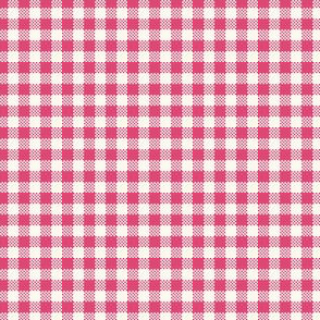 Gingham_hot_pink
