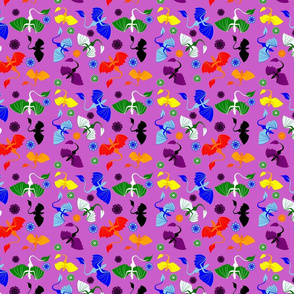 colorful dragon simple