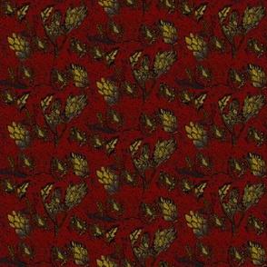 autumn in brick & mustard