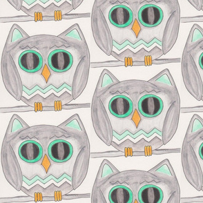 The Owls have eyes for you !!!!.