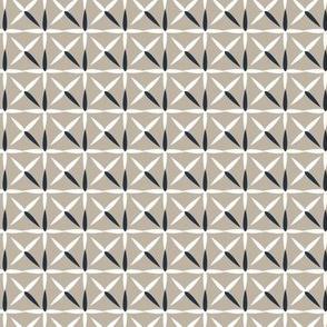 raindrop quilt grey&white (navy)