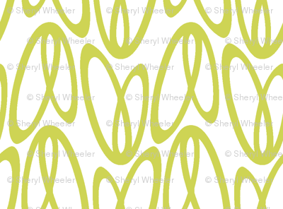 dragonfly wings (chartreuse)