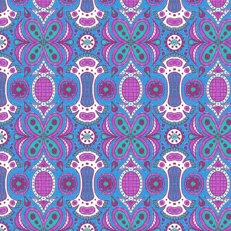 Greenhouse Siesta fabric by siya on Spoonflower - custom fabric