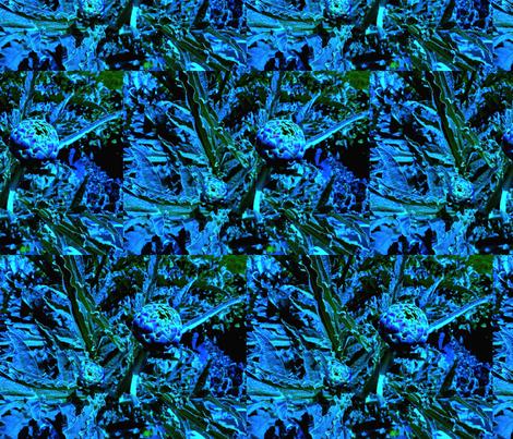 blueartichoke2 fabric by rainbear on Spoonflower - custom fabric