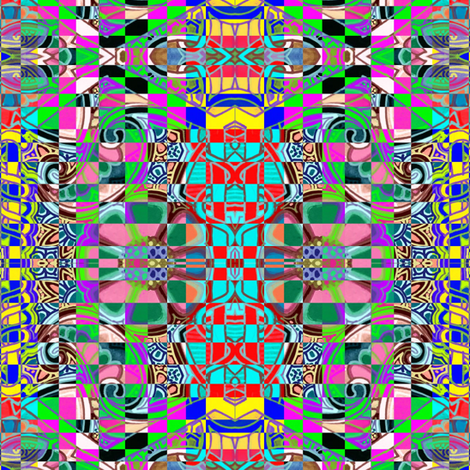 Don't Let Your Checkerboards Use Drugs fabric by edsel2084 on Spoonflower - custom fabric