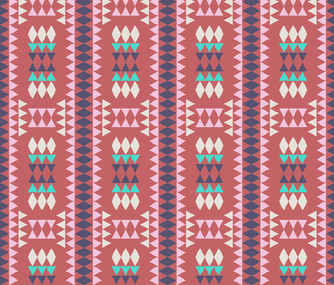 malibu_native fabric by holli_zollinger on Spoonflower - custom fabric