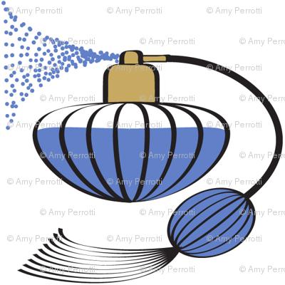 Perfume Atomizer Blue
