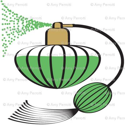 Perfume Atomizer Green