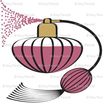 Perfume Atomizer Mauve