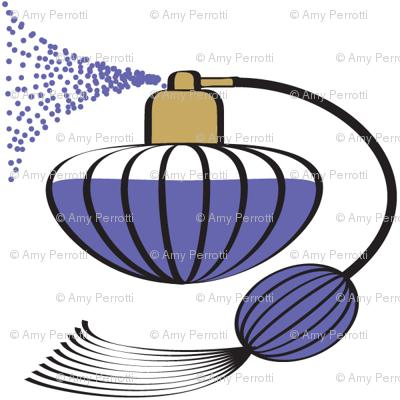Perfume Atomizer Purple