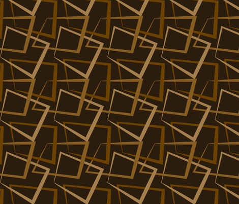Retro Boxes fabric by gingerprints on Spoonflower - custom fabric