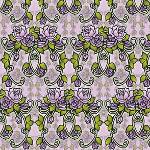 Vintage style roses