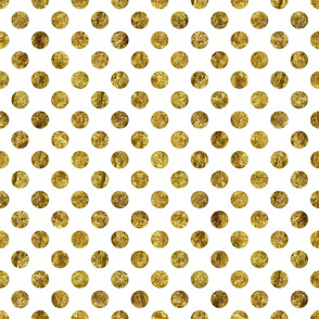 Chic Gold Glam Dots