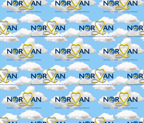 norvanwallpapercloud fabric by d10 on Spoonflower - custom fabric