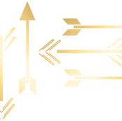 Gold Leaf Arrow