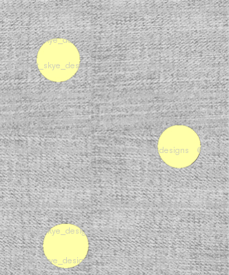 Yellow Dots on Texture Gray