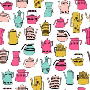 tea party // sweet little girls tea party teapots