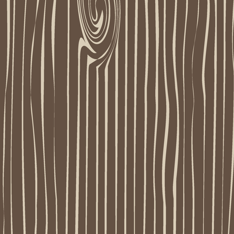 Woodgrain (large scale) // brown&tan fabric by littlearrowdesign on Spoonflower - custom fabric