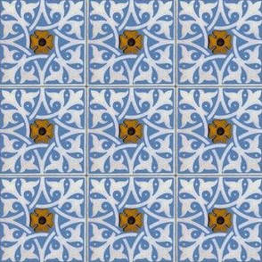 Medieval Tile ~ Provence ~ Two Inch