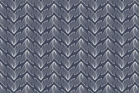 Flies in Blue by Friztin fabric by friztin on Spoonflower - custom fabric