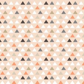 Blush Melon Triangles small scale