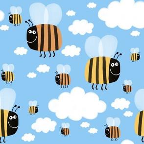 Parmi les abeilles