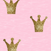 Royal Sparkle Crown Pink