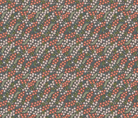 Spring Daisy fabric by fat_bird_designs on Spoonflower - custom fabric