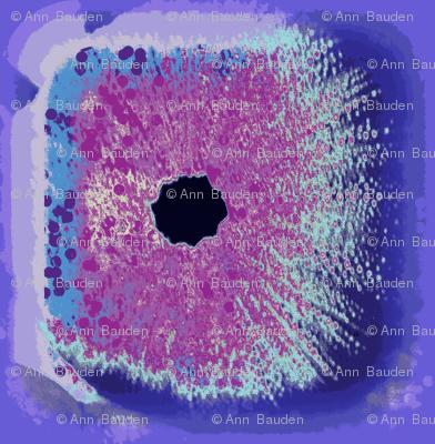Sea Urchins in Lavender & Blue