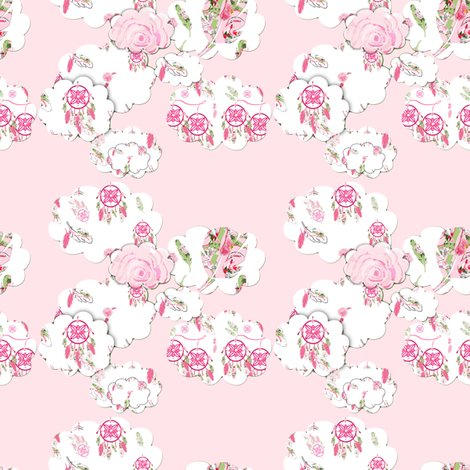 Rshabby_chic_clouds_on_pink_color_burn_shop_preview