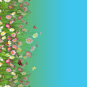 Flowers-Grasses_Border_Print