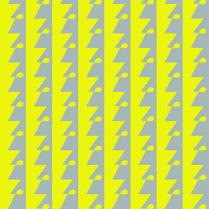 Mystery Man Yellow Grey