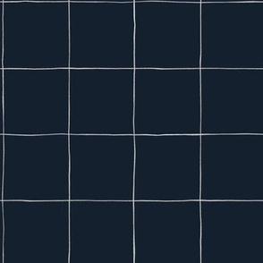 Ink grid 3/3 Navy