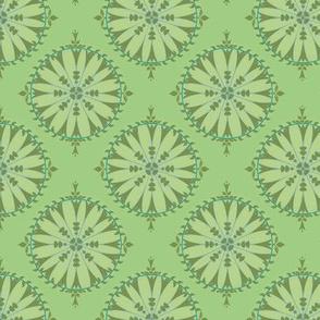 Mosaique chlorophile