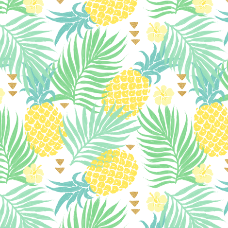 Tropics fabric by innamoreva on Spoonflower - custom fabric