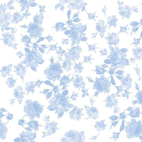 Saint Colette June Roses faded blueberry