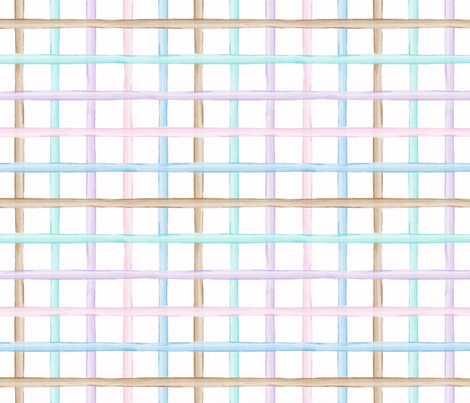 Pastel lines fabric by mia_valdez on Spoonflower - custom fabric
