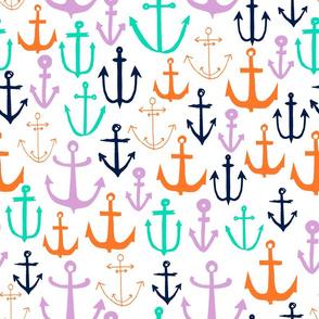 anchor // anchors nautical fabric baby fabric anchor nautical fabric andrea lauren fabric