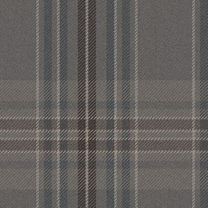 New Ancient Plaid 2 in weathered grey, XL