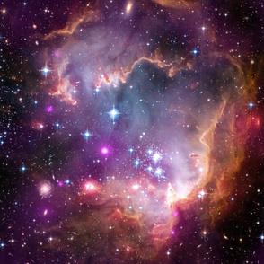 Hubble Purple Nebula