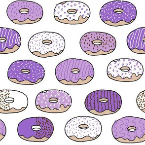 donut // pastel purple doughnuts donuts cute bakery girls sweets