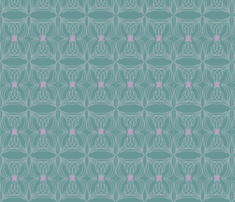 garlictiled fabric by snap-dragon on Spoonflower - custom fabric