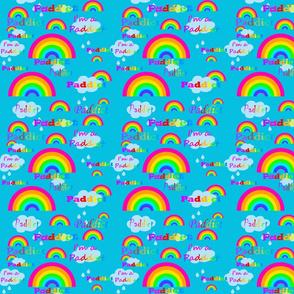 rainbow_fabric_design_turquoise_back_pink_rainbows_paddict