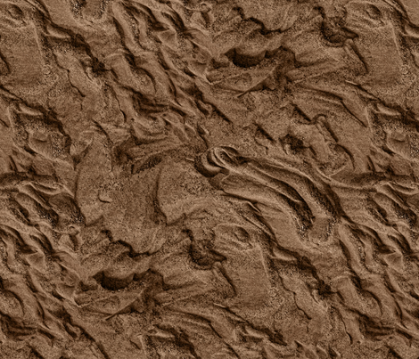 flowing sand, dark fabric by hannafate on Spoonflower - custom fabric