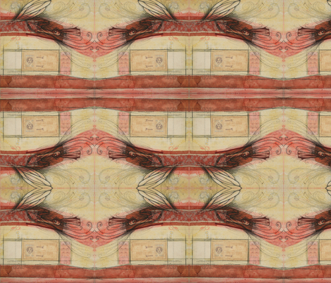Minerva fabric by studiosarcelle on Spoonflower - custom fabric