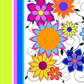 Flashy Flower Border 2